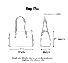 Load image into Gallery viewer, Chanchal Handbag Dimension