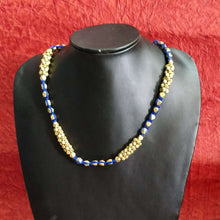 Load image into Gallery viewer, Dokra Blue Jewelry Set