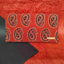 Load image into Gallery viewer, chanchal ajrakh clutch handmade