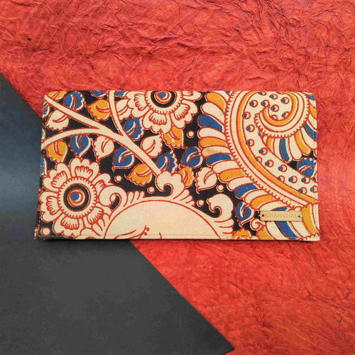 Flower Kalamkari Clutch