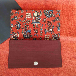 Chanchal Clutch Kalamkari