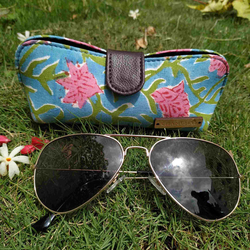 Sky Blue Shades Pouch Chanchal