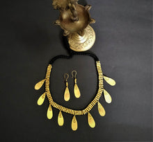 Load image into Gallery viewer, Chanchal Devi Collection Dokra Drops of wonder Jewellery