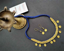 Load image into Gallery viewer, Chanchal Dokra Devi Collection Spiral of Life Jewelry handcrafted