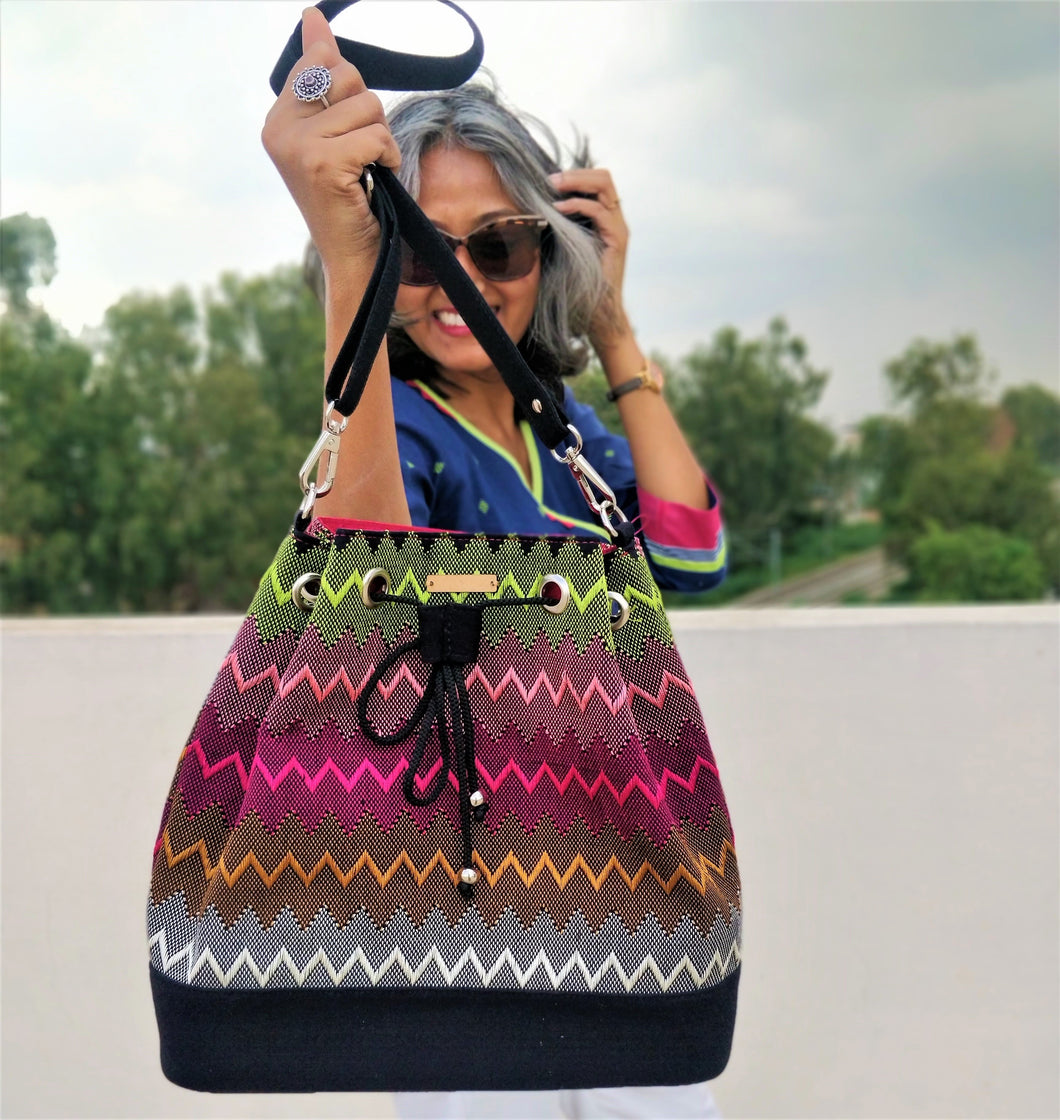 Chanchal The Traveller Bag bucket sling