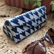 Load image into Gallery viewer, Neela ~ Asymmetrical Indigo Shade Case Chanchal