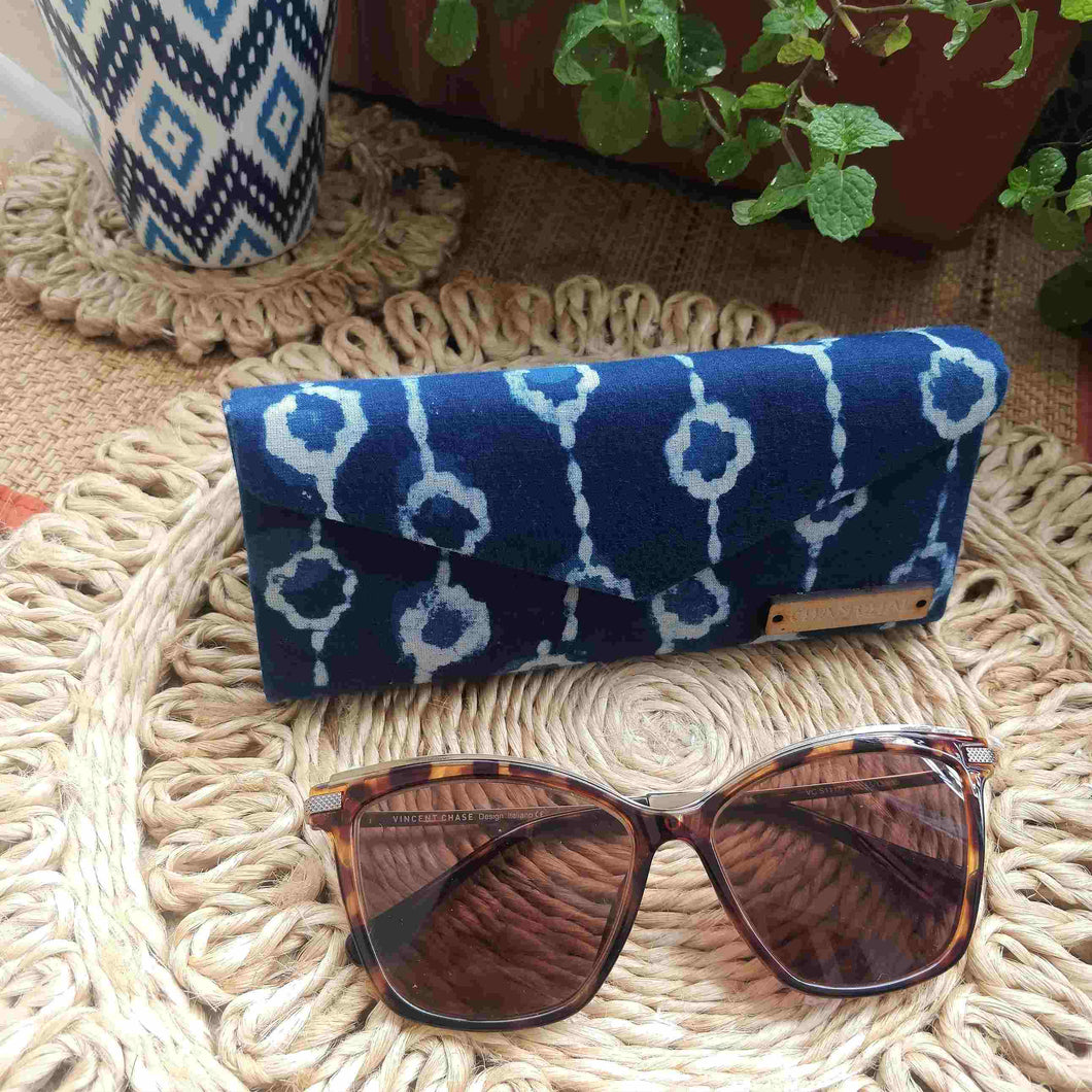Neela ~ Indigo Chain Shade Case neela collection chanchal