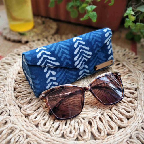Indigo Big Leaf Shade Case neela collection chanchal