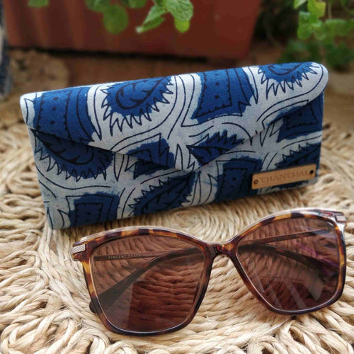 Indigo Pattern Shade Case Chanchal