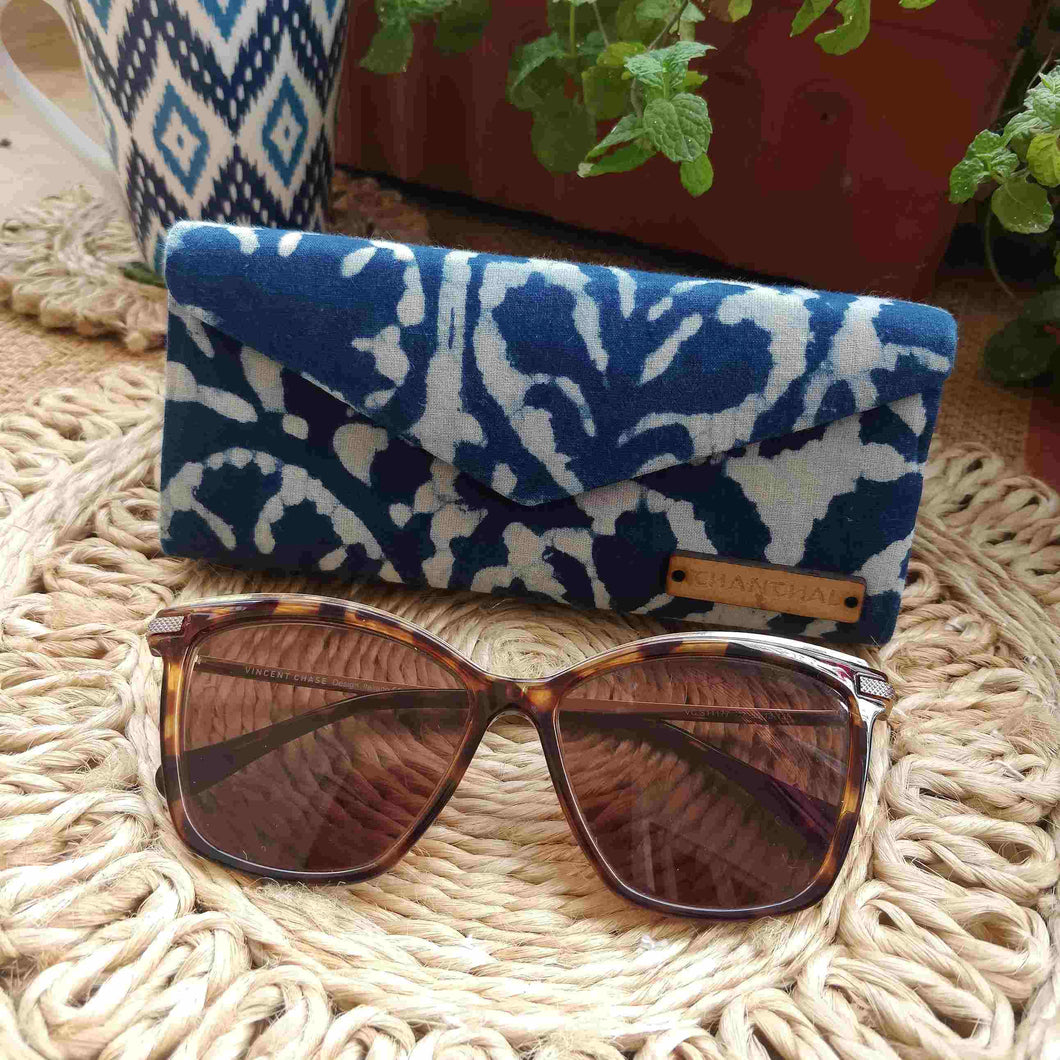 Indigo Nature Shade Case Chanchal Neela Collection