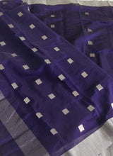 Load image into Gallery viewer, Silk Chanderi Saree Sari handloom Chanchal Bringing Art to Life Weavers Made in India