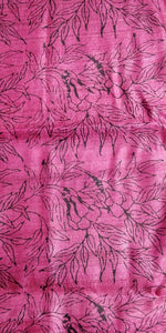 PInk tussar silk madhubani bhagalpuri saree sari Indian ethnic festive wear Chanchal women fashion Indian brand handloom Diwali gift shopping