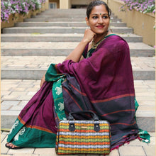 Load image into Gallery viewer, Khana Mor-hathi Duffle Bag