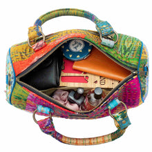 Load image into Gallery viewer, Multicolor Silk Duffle Bag