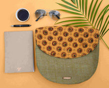 Load image into Gallery viewer, Mustard Half Moon Sling Bag Chanchal