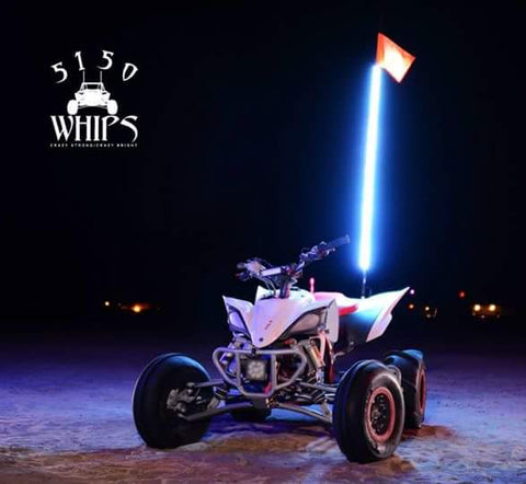 5150 Whips : SINGLE (1) LED whip