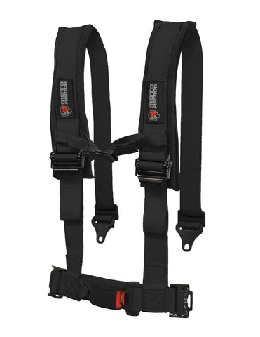 MOTO ARMOR : FOUR POINT HARNESS, OEM STYLE LATCH