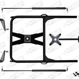 CAGEWRX : SPARE TIRE CARRIER FOR RZR XP