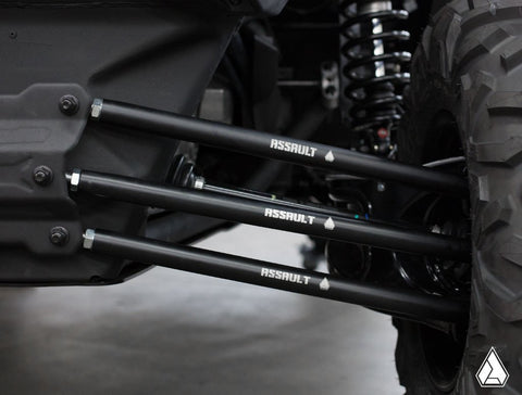 ASSAULT INDUSTRIES : BARREL STYLE HEAVY DUTY RADIUS RODS (FITS: CAN-AM MAVERICK X3)