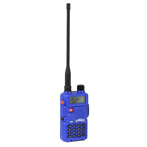 Rugged Radio : 5-Watt Dual Band (VHF/UHF) Handheld Radio