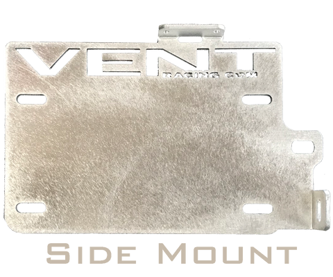 Vent Racing : License Plate Mounts