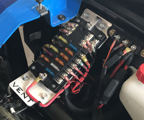 Vent Racing : Under Hood Accessory Fuse Block and Mount