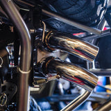 Agency Power : Dual Tip Exhaust System Polaris RZR XP Turbo