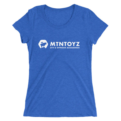 MTN Toyz Ladies' tri-blend short sleeve tee