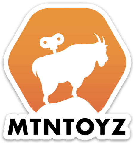 MTN Toyz Color Die Cut Sticker : SHARE THE GOAT