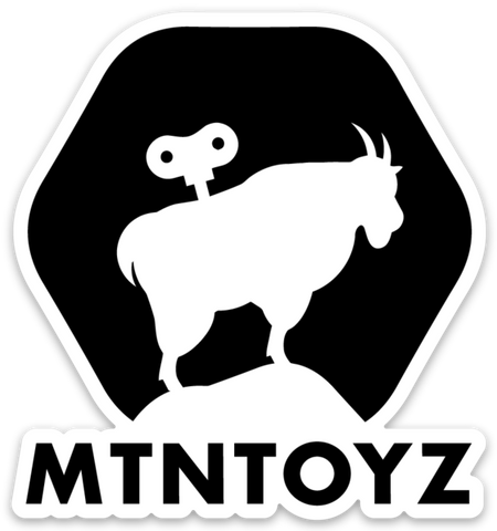 MTN Toyz Die Cut Sticker : SHARE THE GOAT