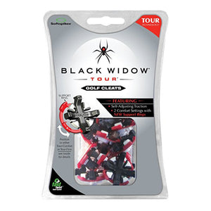SoftSpikes Pride Sports Black Widow Tour