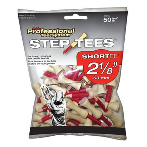 Tee Pride Sports PTS Wood Golf Step Tees
