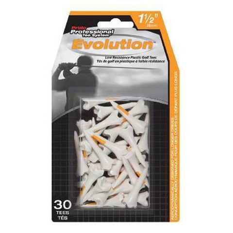 Tee Pride Sports PTS Evolution Plastic Golf Tees Retail