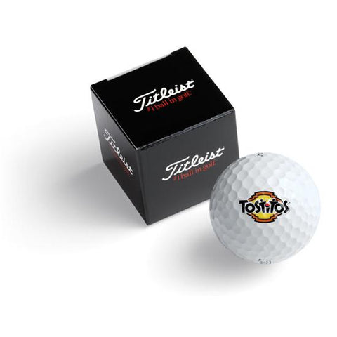 Pelota Package Titleist Custom 1 Ball Box