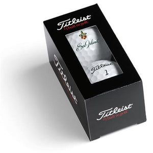 Pelota Package Titleist Custom 2 Ball Sleeve Box