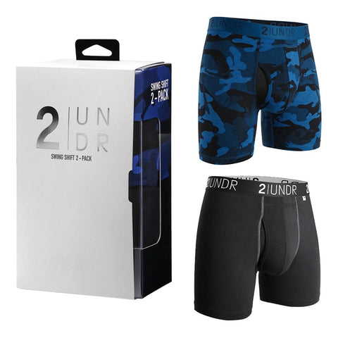 Ropa Interior Deportiva 2 UNDR Swing Shift 6 inch. 2-Pack