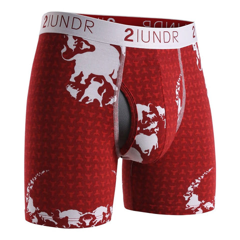 Ropa Interior Deportiva 2 UNDR Swing Shift 6 inch. Estampado