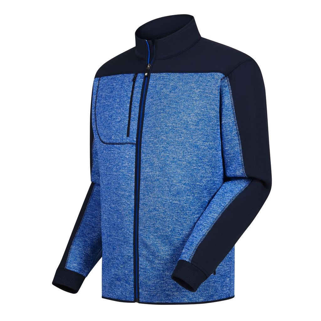 Jacket FootJoy Fleece Knit Hombre