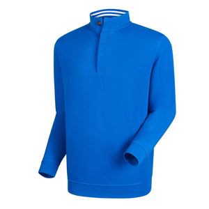 Pullover FootJoy Spun Poly Midlayer With Button Placket Hombre