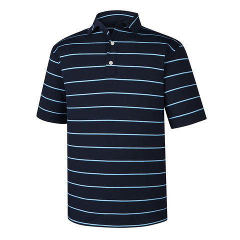 Polo Footjoy Prodry Performance Spun Poly Stripe  Self Collar