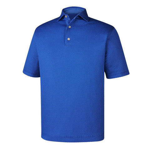 Polo Footjoy Dot Geo Jacquard   Self Collar