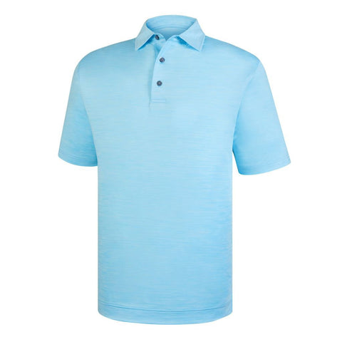 Polo Footjoy Prodry Performance Lisle Space Dyed   Self Collar