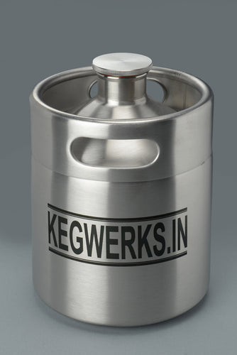 KEG 2 BEER GROWLER - KEGWERKS.IN