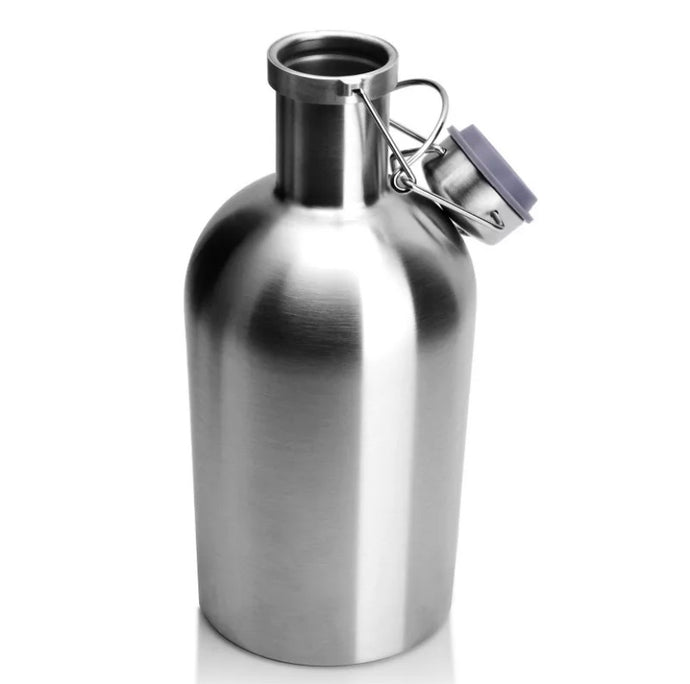 32 / 64 oz STAINLESS STEEL BEER GROWLER - KEGWERKS.IN