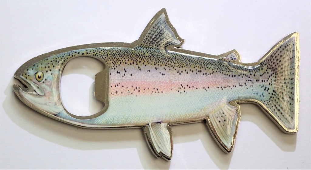 Rainbow or Brown Trout Magnetic Bottle Opener