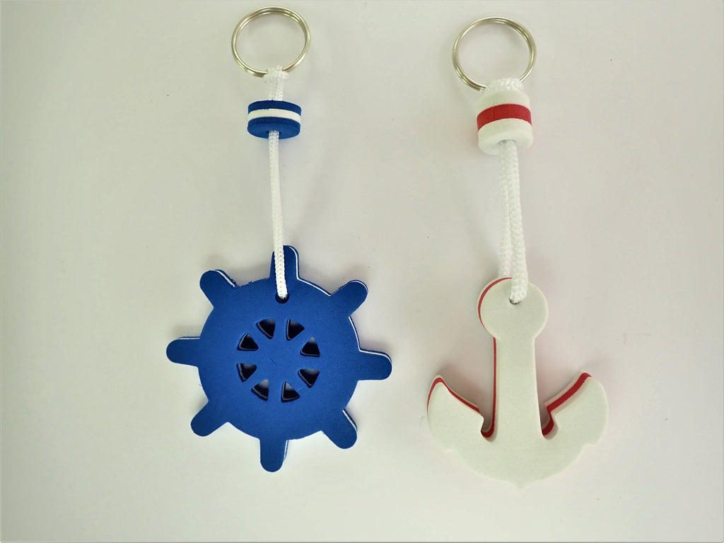 Floating Key Rings - Nautical