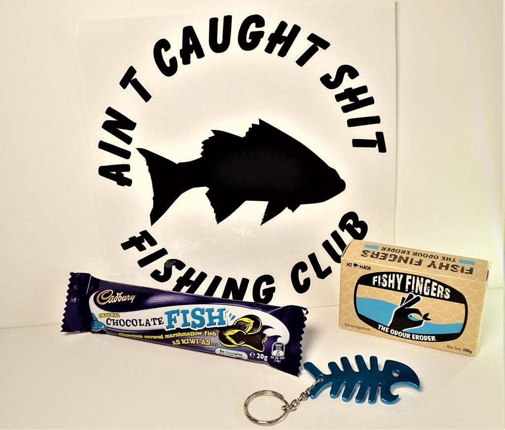 Ain't Caught Shit Fishing Club ~ Gift Pack