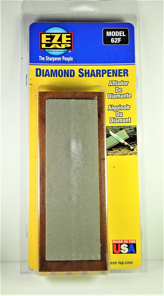 Diamond Sharpener In Walnut Surround.