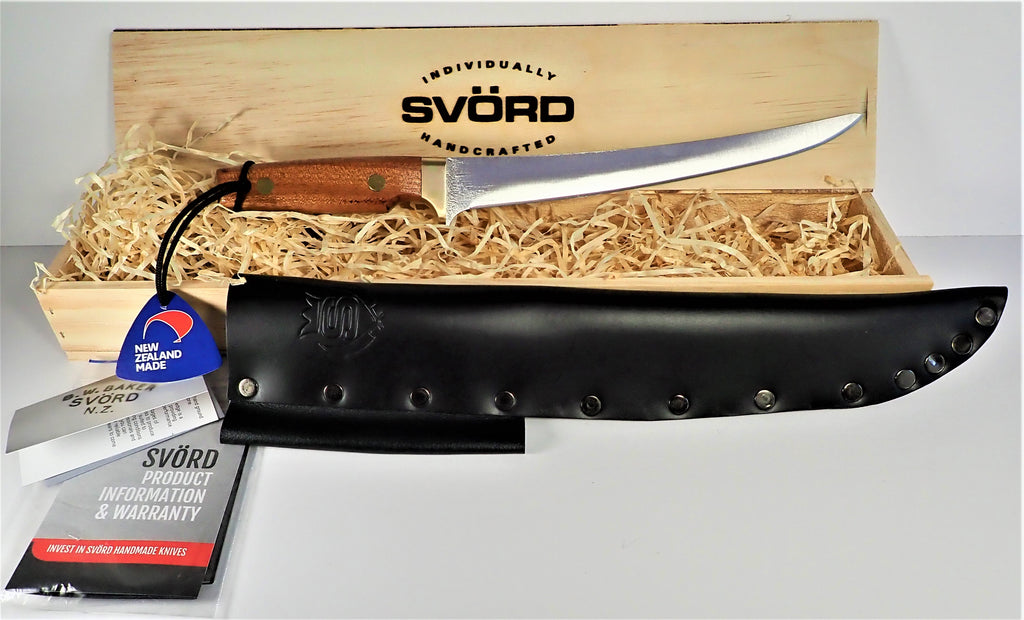 "Svord Fish Fillet Knife 9"" Deluxe- Gift Boxed"