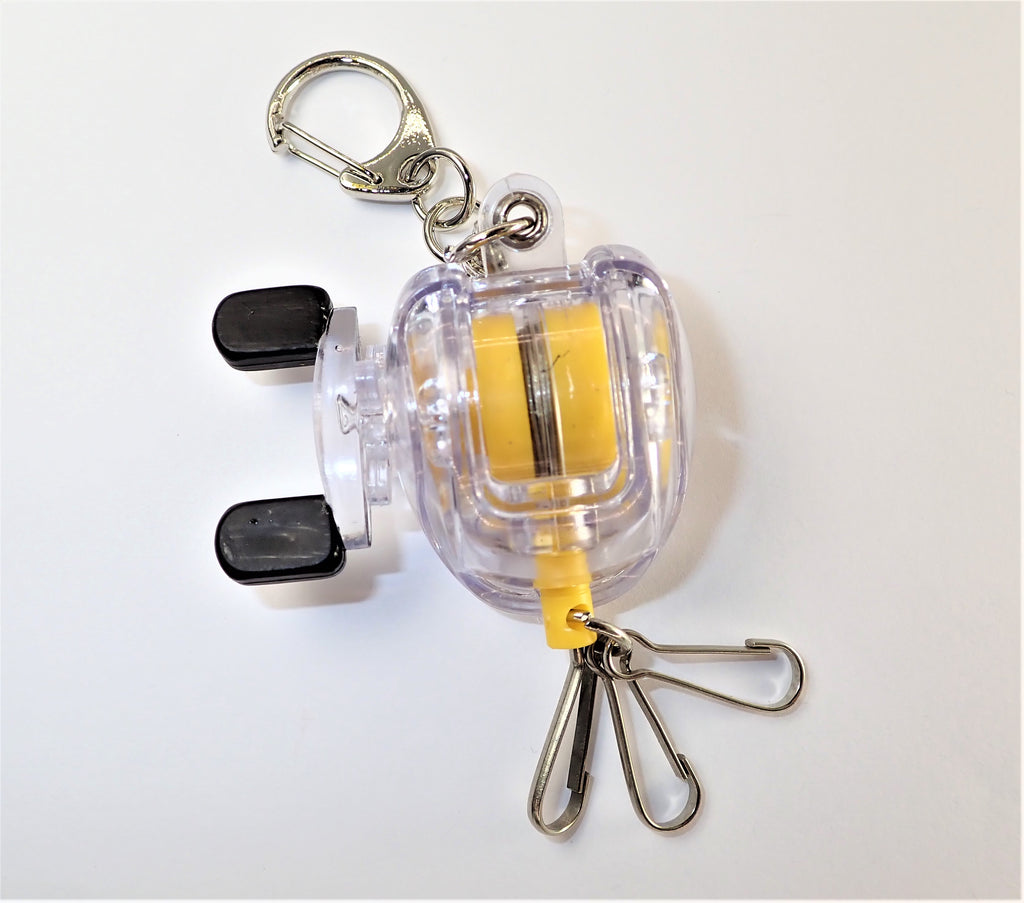 Retractable Reel Key Chain